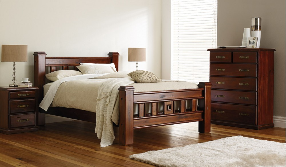 Solid Timber King Bed Idream Furniture